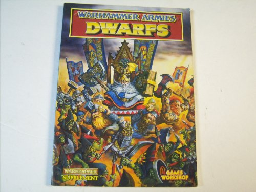 9781872372662: Warhammer Armies: Dwarfs