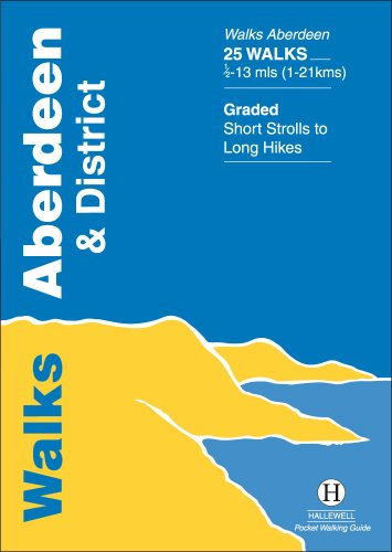 9781872405070: Walks Aberdeen and District (Hallewell Pocket Walking Guides)