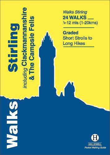 9781872405520: Walks Stirling (Hallewell Pocket Walking Guides)