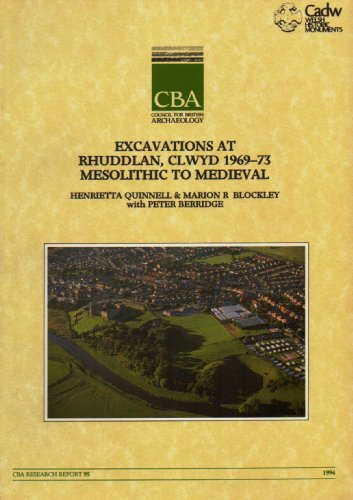 Excavations at Rhuddlan, Clwyd 1969-73, Mesolithic to Medieval (Research report): Quinnell, ...