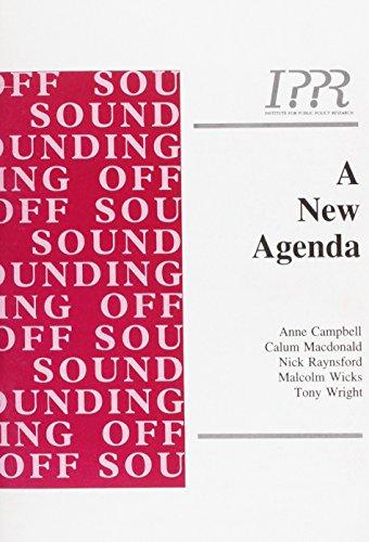 9781872452708: A New Agenda (Sounding off)