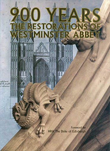 900 YEARS: THE RESTORATIONS OF WESTMINSTER ABBEY. With contributions by Donlds Buttress, Surveyor...