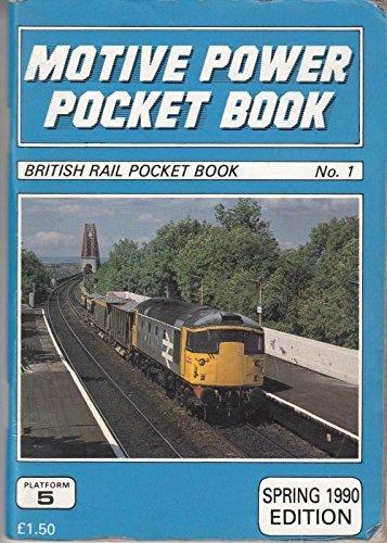 9781872524016: Motive Power Pocket Book