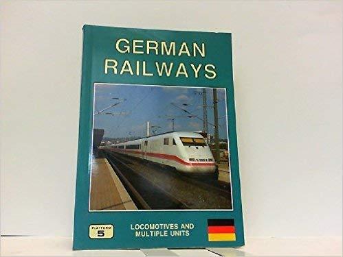9781872524504: German Railways Locomotives and Multiple Units (European Handbook)