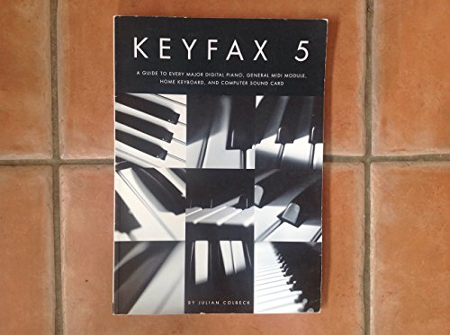 9781872601656: Keyfax V: Guide to Every Major Digital Piano, General Midi Module, Home Keyboard and Computer Soundtrack