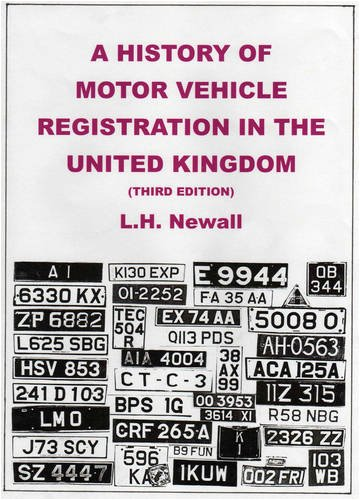 9781872686325: A History of Motor Vehicle Registration in the United Kingdom