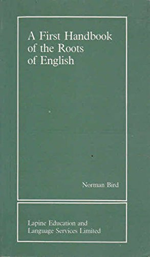 9781872701004: First Handbook of the Roots of English