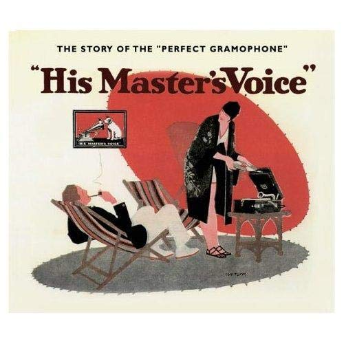 9781872727493: His master's voice portable gramophones /anglais