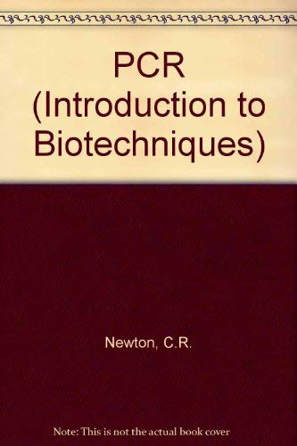 9781872748825: Pcr (Introduction to Biotechniques)