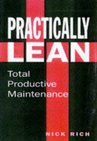 9781872807232: Total Productive Maintenance: The Lean Approach (Tudor Business Publishing)