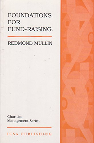 9781872860732: Foundations for Fundraising