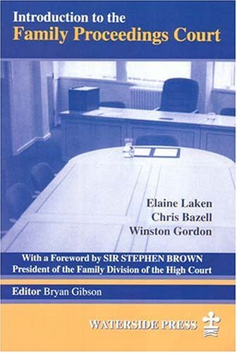 9781872870465: Introduction to the Family Proceedings Court