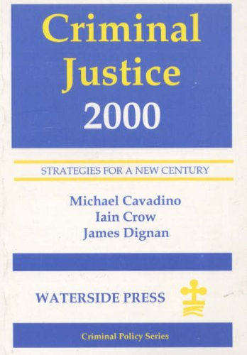 9781872870779: Criminal Justice 2000: Strategies for a New Century (Charities Management Series)