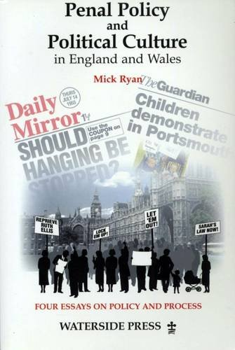 9781872870939: Penal Policy and Political Change in England and Wales