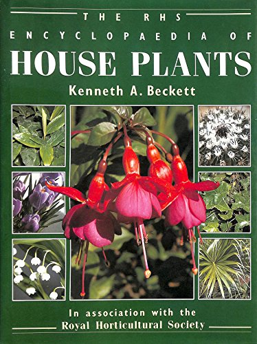 9781872927008: The RHS Encyclopaedia of House Plants Including Conservatory Plants