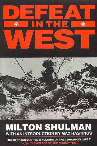 9781872947037: Defeat in the West