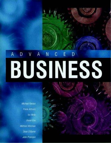 Advanced Business: Fardon, Michael and