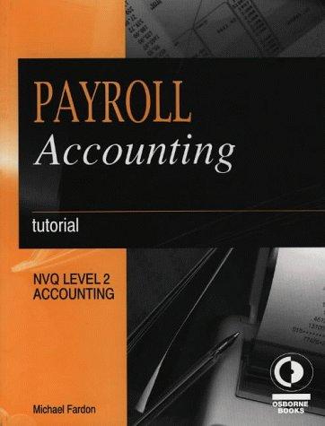 9781872962139: Payroll Accounting: Tutorial