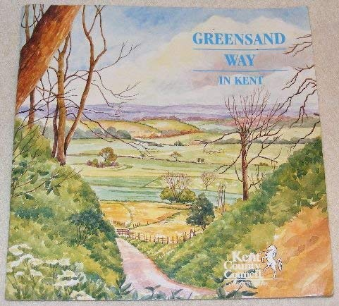9781873010235: The Greensand Way - In Kent
