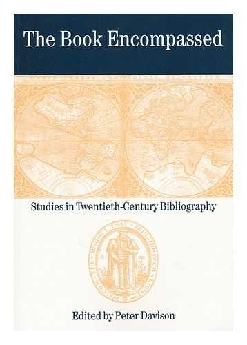 9781873040492: THE BOOK ENCOMPASSED - Studies in Twentieth-Century Bibliography