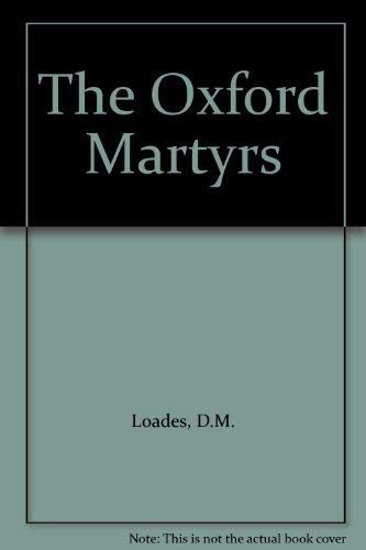 9781873041338: The Oxford Martyrs
