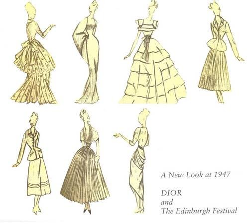 9781873108161: A New Look at 1947: Dior and the Edinburgh Festival: 50 Years on - An Exhibition Exploring the Cultural Significance of Dior's New Look and the First Edinburgh Festival