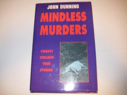 9781873123331: Mindless Murders