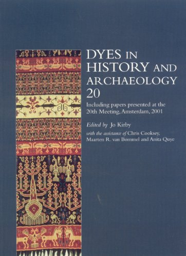 9781873132296: Dyes in History and Archaeology (Vol. 20)