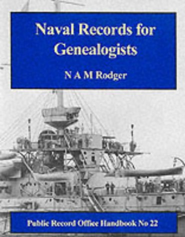 9781873162583: Naval Records for Genealogists (Public Record Office Handbooks)