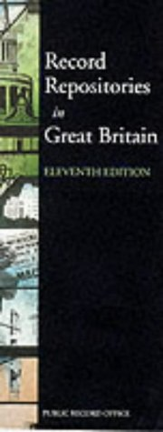 9781873162767: Record Repositories in Great Britain: Definitive Directory of Historical Archives in Britain