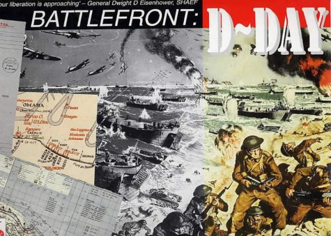 9781873162774: Battlefront: D-Day (Public Record Office Document Packs)