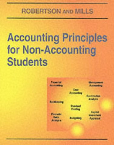 9781873186176: Accounting Principles for Non-accounting Students