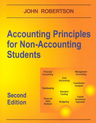 9781873186213: Accounting Principles for Non-accounting Students