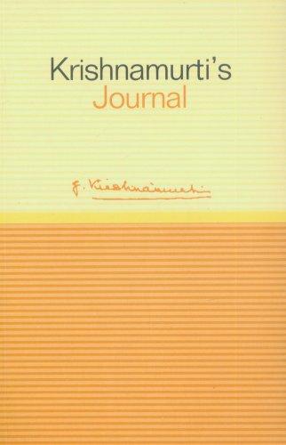 9781873263792: Krishnamurti's Journal