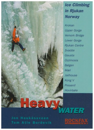 9781873341469: heavy water, ice climbing in rjukan norway