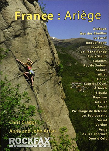 9781873341872: France: Ariege: Rockfax Rock Climbing Guidebook