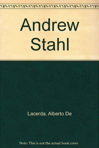 9781873362778: Andrew Stahl: 3 April - 10 May 1998