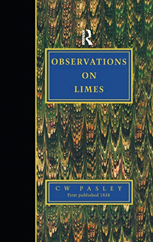 Observations on Limes: Paley,C.W.