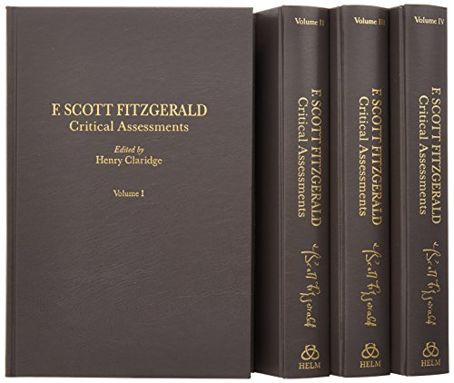F. Scott Fitzgerald: Critical Assessments (Critical Assessments of Writers in English Series)