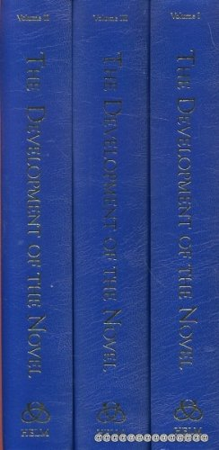 9781873403624: The Development of the Novel: 3 Volume Set (Literary Sources and Documents) (Literary Sources & Documents)