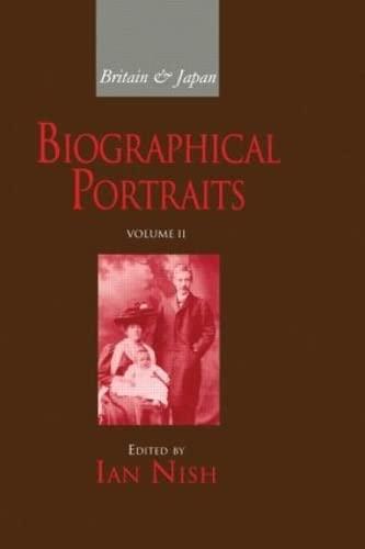 9781873410622: Britain and Japan Vol II: Biographical Portraits (Britain & Japan)