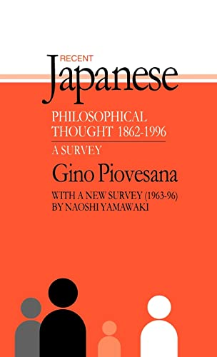 9781873410653: Recent Japanese Philosophical Thought 1862-1994: A Survey (Japan Library)