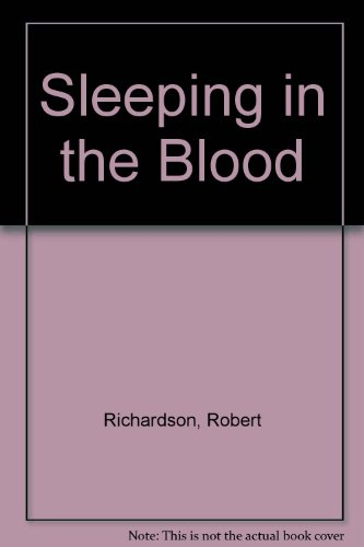 9781873567005: Sleeping in the Blood --Signed--