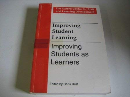9781873576595: Improving Students as Learners (Improving Student Learning)