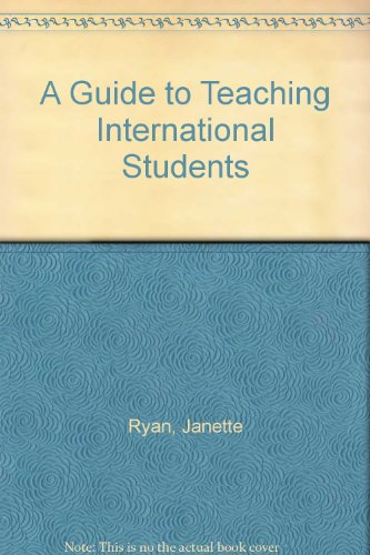 9781873576656: A Guide to Teaching International Students