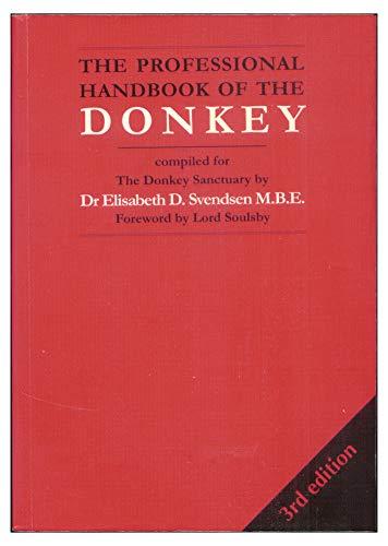 9781873580370: The Professional Handbook of the Donkey (Donkeys)