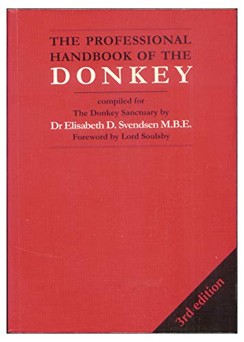 9781873580370: The Professional Handbook of the Donkey (Donkeys)