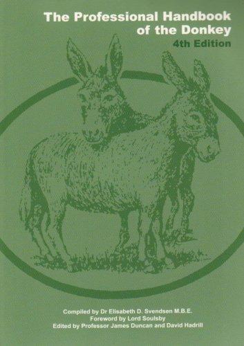 The Professional Handbook of the Donkey: Svendsen E,D