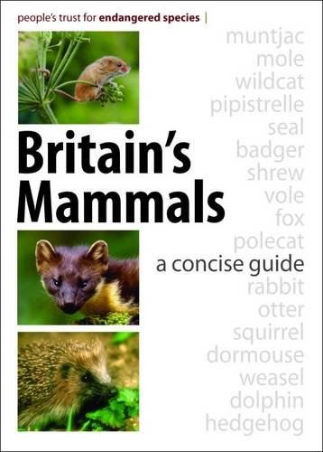 Britain's Mammals: A Concise Guide: People's Trust for Endangered Species
