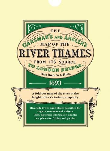 The Oarsmans And Anglers Map Of The River Thames - Fold out map of the us